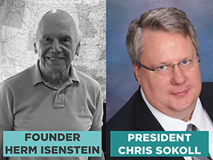 Founder Herm Isenstein sold DISCCORP to Chris Sokoll