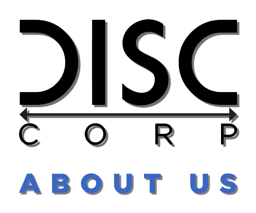 DISCCORP About Us Page